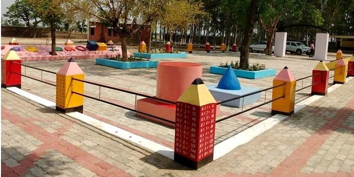this project was inaugurated by sukhwinder singh danny mla jandiala guru approximately 10 lasc has been spent on formation of math park as well as tiles
