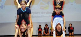 Yoga at valedictory function of  National Yoga Olympiad-2018